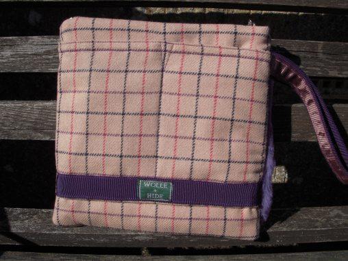 Saddleworth check with trim