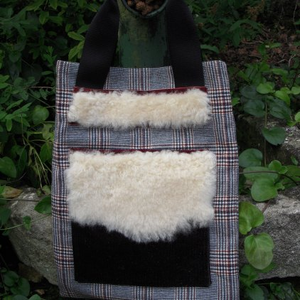 CWW check with sheepskin