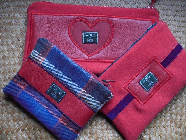 Valentine collection purses