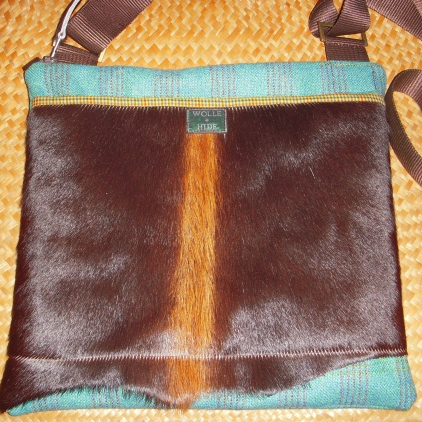 HAIR-ON COWHIDE and WOOL