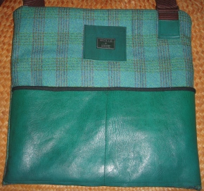 WELSH CHECK and GOATSKIN